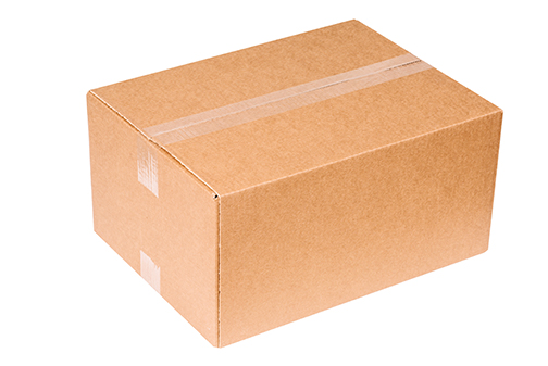 Box With PP Tape